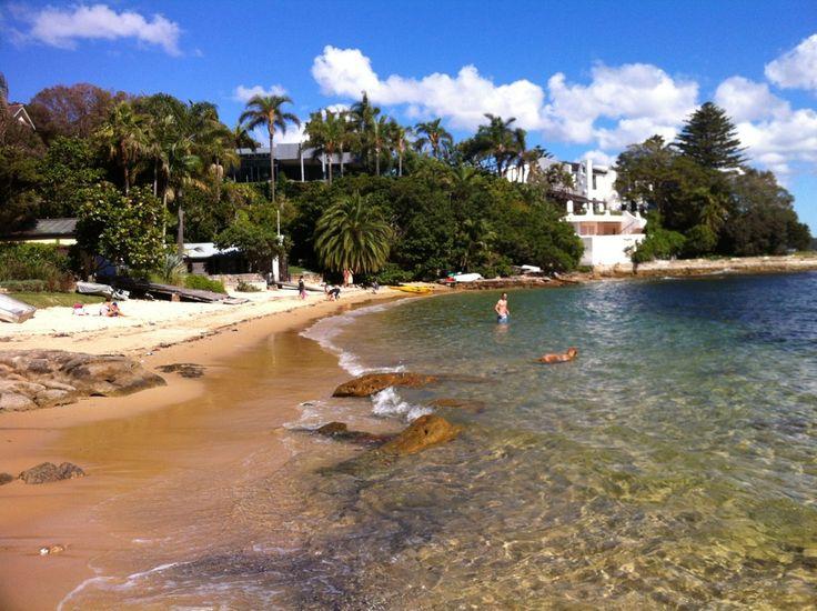 Kutti Beach in Vaucluse, NSW