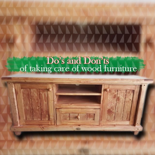 """Taking care of wood furniture. One of the many questions that we get asked is""""Now that I've bought this furniture, how do I take care of it? More info on our website. Link in BIO."""