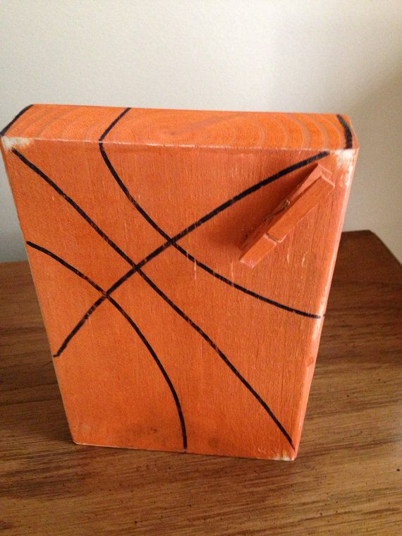Basketball Photo Block by SouthernFlairStore on Etsy