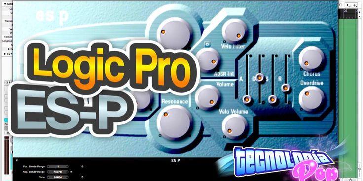 Aprende a usar el sintetizador ES-P de Logic Pro y crea sonidos increíbles, fácil y rápido con éste Video-Tutorial Logic Pro en menos de 5 minutos. Aplica para Logic Pro 9 y 10