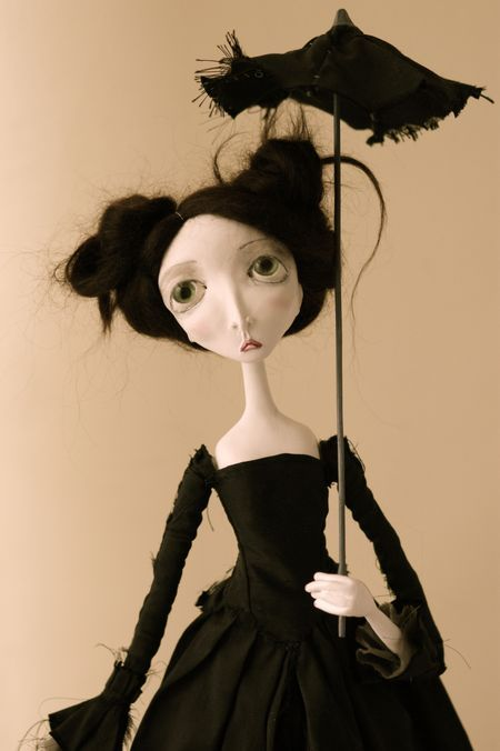 """""""The Divine Ms. Kelly"""". Sarah Faber, doll artist"""