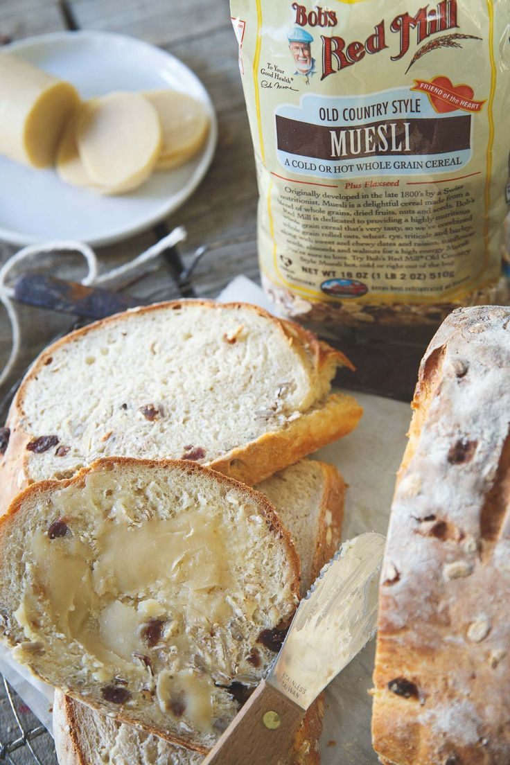Enjoy this museli bread straight out of the oven with some butter and you're in for a treat! To be converted to Sourdough