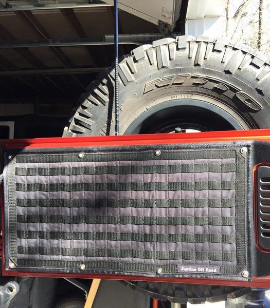 MOLLE TAILGATE STORAGE PANEL KIT | Jeep, Popup camper ...