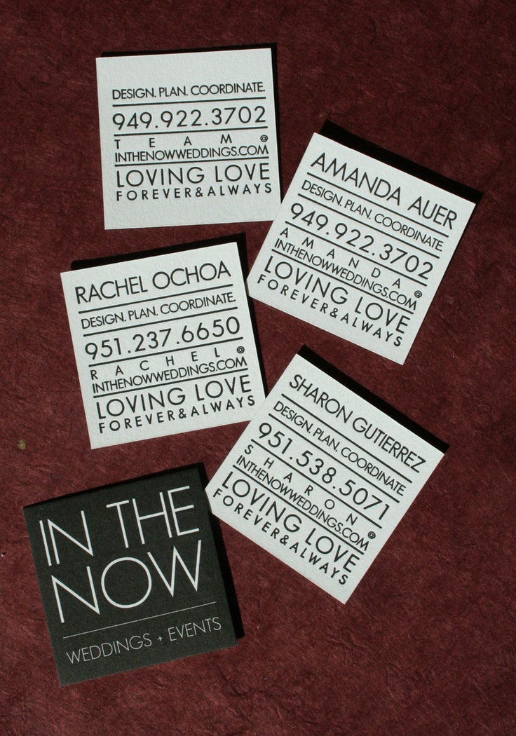 78 best Square Business Cards images on Pinterest | Business card ...