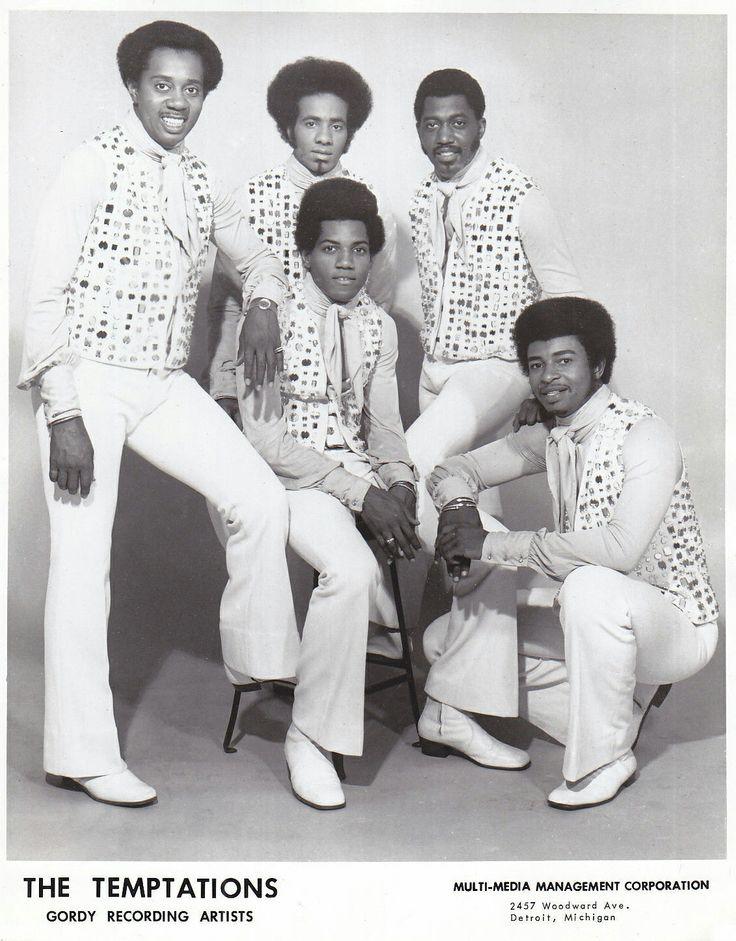 210 best The Temptations images on Pinterest   Soul music, Motown ...