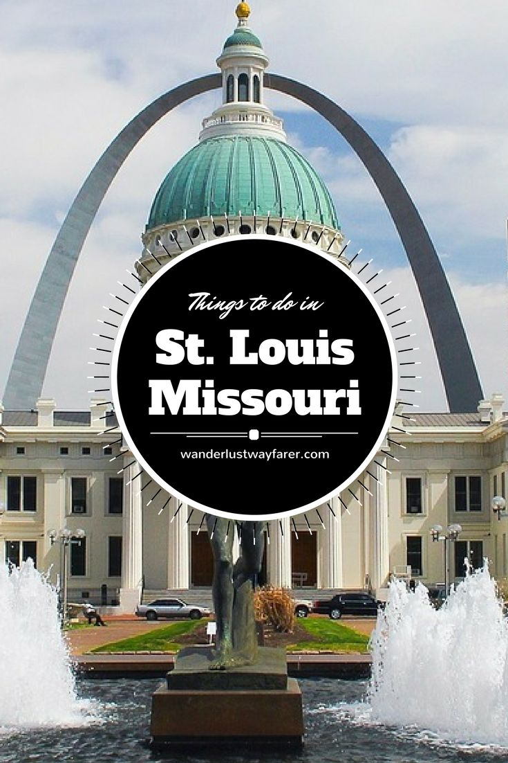 Are you looking for things to do in St. Louis, Missouri? Check out these must-see sites.