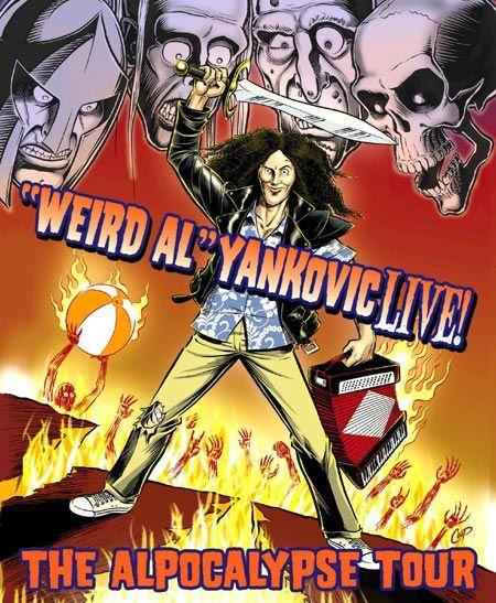 Weird Al Yankovic Apocalypse Tour - August 11, 2012 Three Stages Theater, Folsom, CA