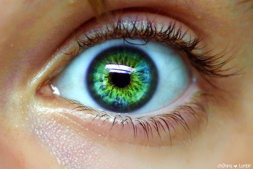 Groene ogen zijn prachtig !