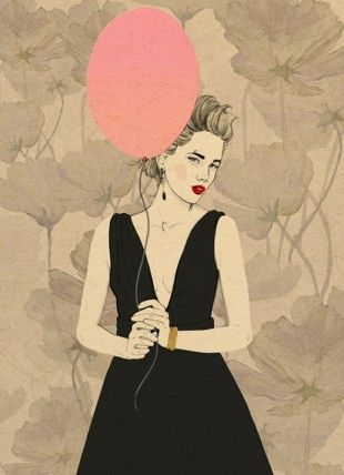 Magdalena Pankiewicz Ilustration / Personal works / Party