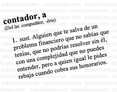 Definición de contador