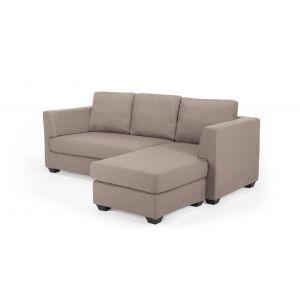 Newark Corner Sofa in tawny brown | made.com