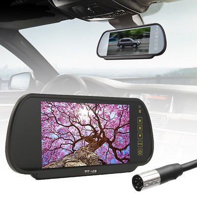 """US-Deals Cars 7"""" LCD TFT Color Screen Car Reverse Rear View Backup Camera DVD Mirror Monitor: $29.88 End Date: Wednesday…%#USDeals%"""
