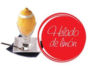 Helado de limón / Lemon ice-cream with milk