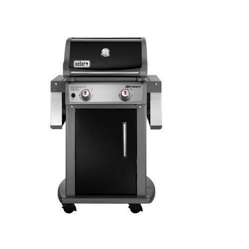 weber propane grill spirit e210 liquid gas black outdoor deck bbq backyard patio weber
