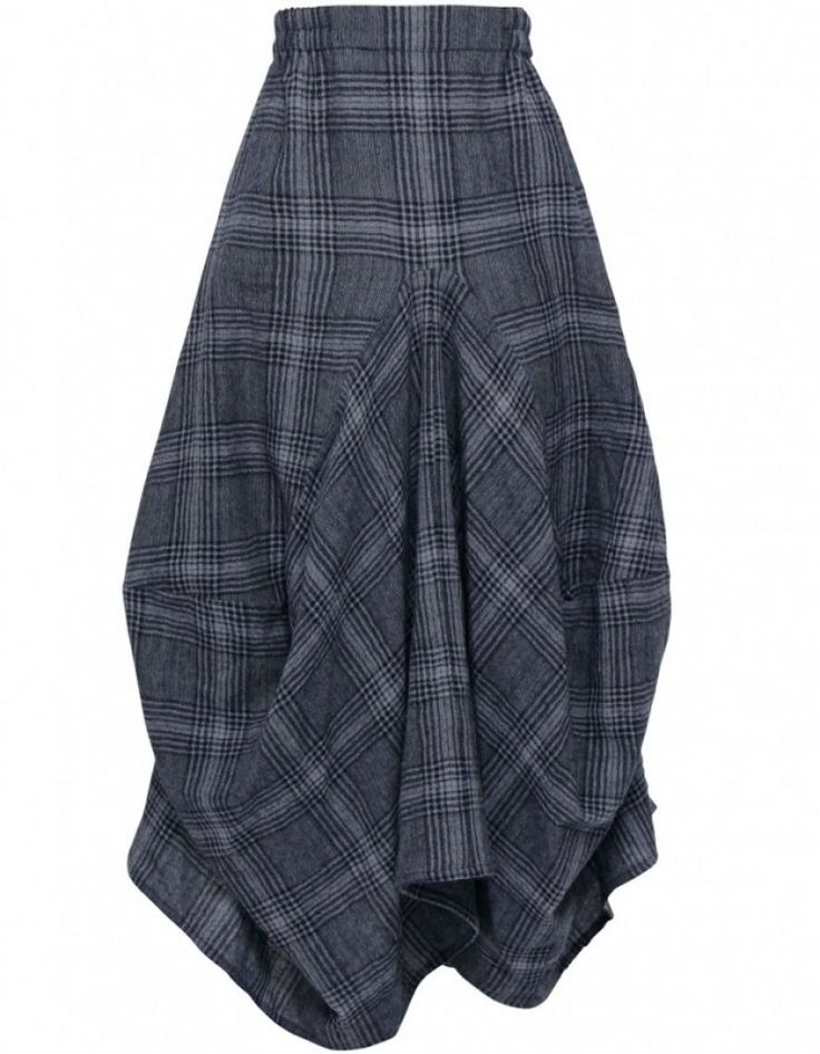Grizas Check Skirt