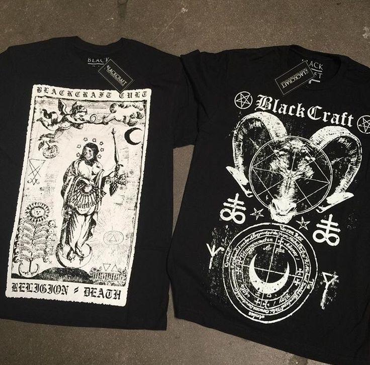 Black Craft Cult Tee-Shirts