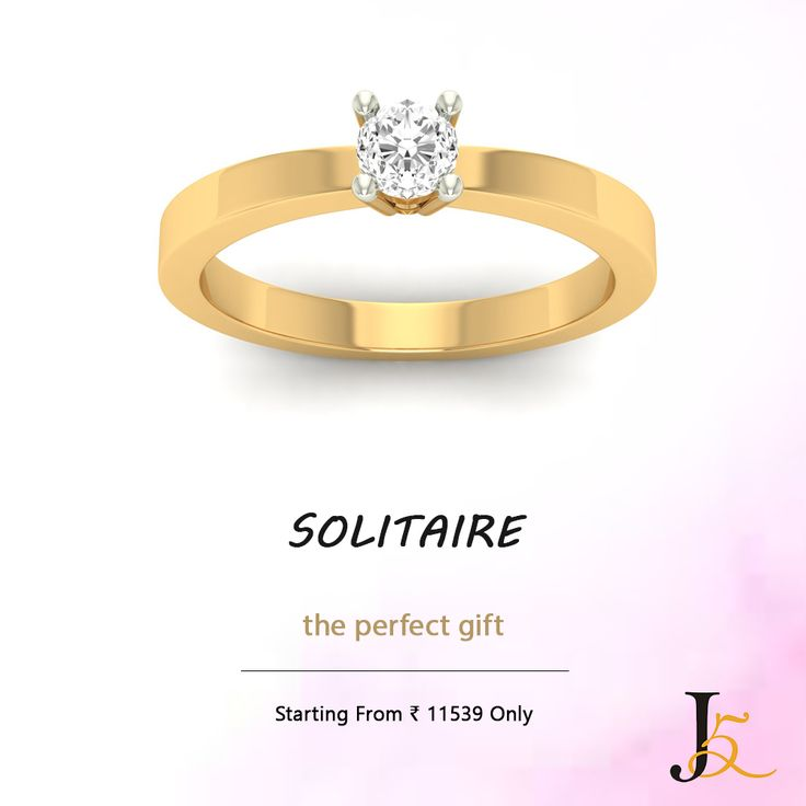 #Solitaire - The Perfect Gift  Buy Solitaire At This Festive Season, Starting From Rs. 11539 Only  #DiamondJewellery #OnlineShopping #CashOnDelivery #BestBuy #diamondring #diamondpendant #Jewels5  Visit Our Store: https://jewels5.com