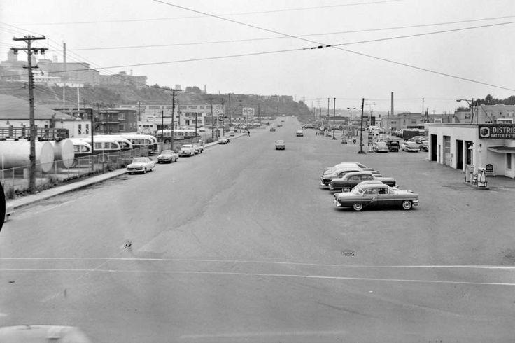 Le boulevard Charest Ouest en 1959