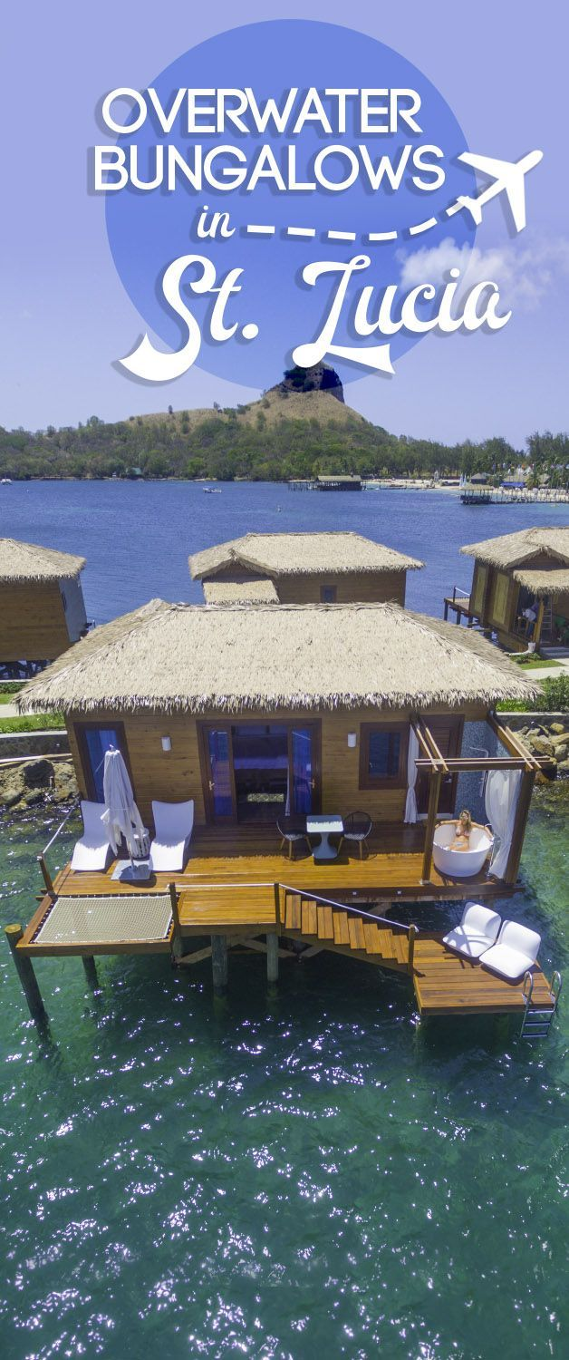 Sandals St Lucian Grande! Staying in an overwater bungalow no longer requires a 20+ hour flight to Tahiti or the Maldives! Sandals St Lucian Grande overwater bungalows are here. Make sure to book online in advance, they will sell out fast!