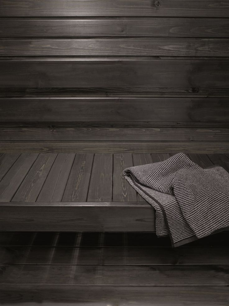 Tikkurila's Supi Sauna wax is available in white, black, grey and clear…