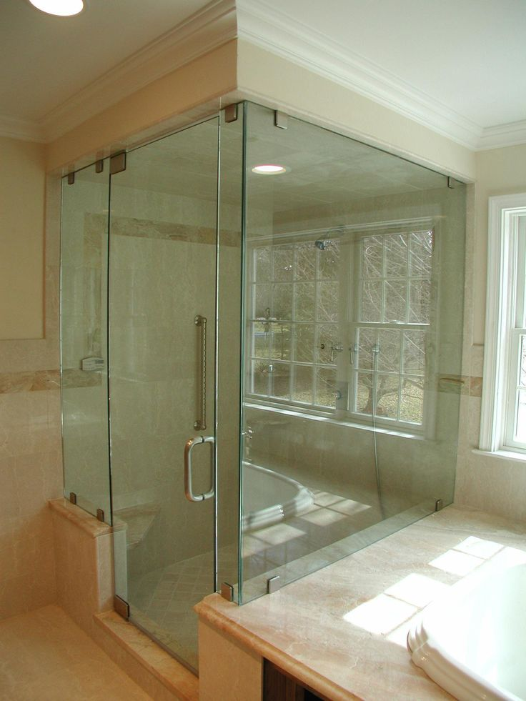 a true frameless shower door by mirage mirror and glass is guaranteed to be an instant