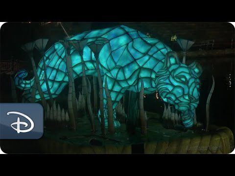 Pin for Later: Disney's Animal Kingdom's First Night Show, Rivers of Light, Is Coming This Spring! Behind the Scenes