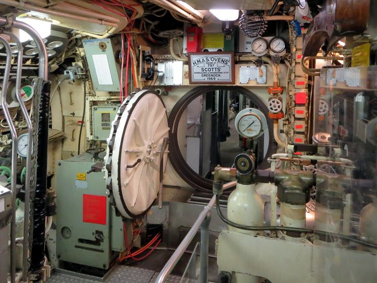 Tours are offered through the Oberon Class submarine HMAS Ovens at the Western Australian Maritime Museum in Fremantle, Western Australia.