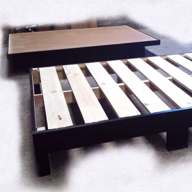 Best 25 bases de cama ideas on pinterest camas de - Bases de cama de madera ...