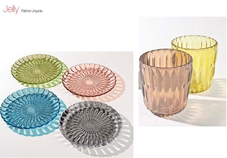 Jelly (piatto e vaso) by Patricia Urquiola