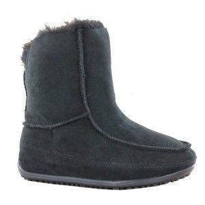 FitFlop Mukluk MOC 2, Boots femmeBleu (Super Navy),UK:3 (EU:36)