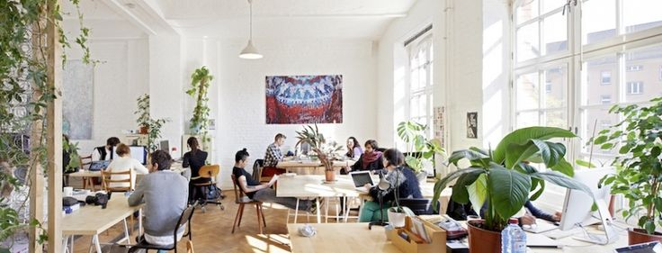 Coworking space based in Berlin. Business, communication, food and art
