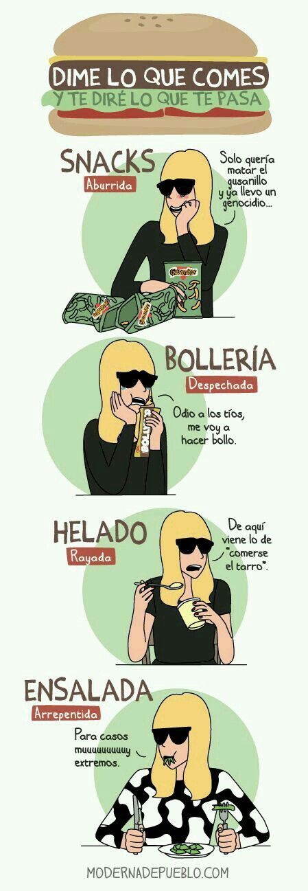 Moderna de pueblo. #comida #humor #dietas #fueradietas #helado #rico