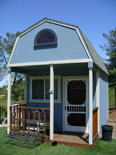 Made from tuff shed alternative housing part 1b of 4 for Tuff sheds