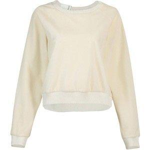 Yoins Yoins Fluffy Cropped Sweatshirt