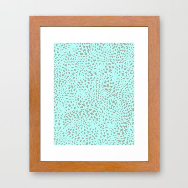 Abstract Lace Framed Art Print by Georgiana Paraschiv   Society6