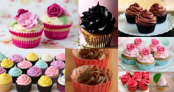 Cupcakes são mini delícias, fofos e delicados, mas muitas vezes acabam sendo mini (ou mega) decepções. Já escutei muita gente comentar que acha que os cupcakes são secos e sem sabor.  Porém alguns cuidados podem transformar este mini-bolinho em verdadeiras delícias gourmet. Criatividade e bom gosto, além de algumas regrinhas simples, podem fazer o seu cupcake se destacar entre tantos outros que existem no mercado. Confira as sugestões e divirta-se.  Ao contrário do que muita gente pensa…