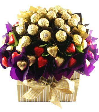 australia Chocolate - Flowers of Ferrero Rocher