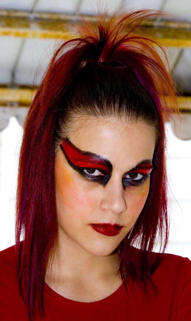 Devil Hairstyles Halloween