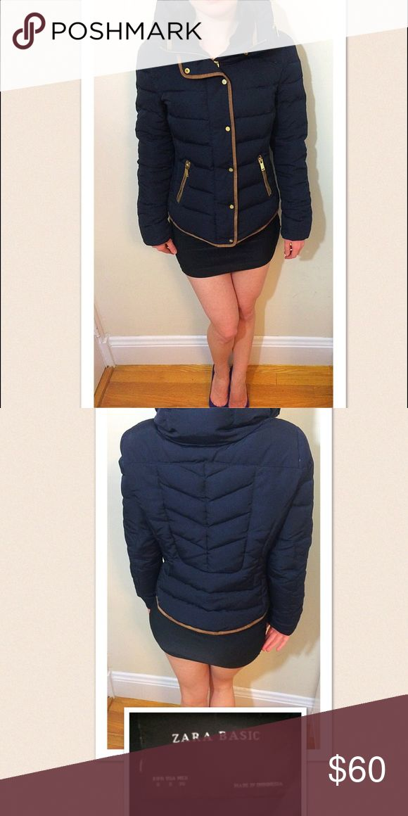 Zara - Boston storm special! $50 Very posh Zara winter jacket. Great design! Zara Jackets & Coats Puffers
