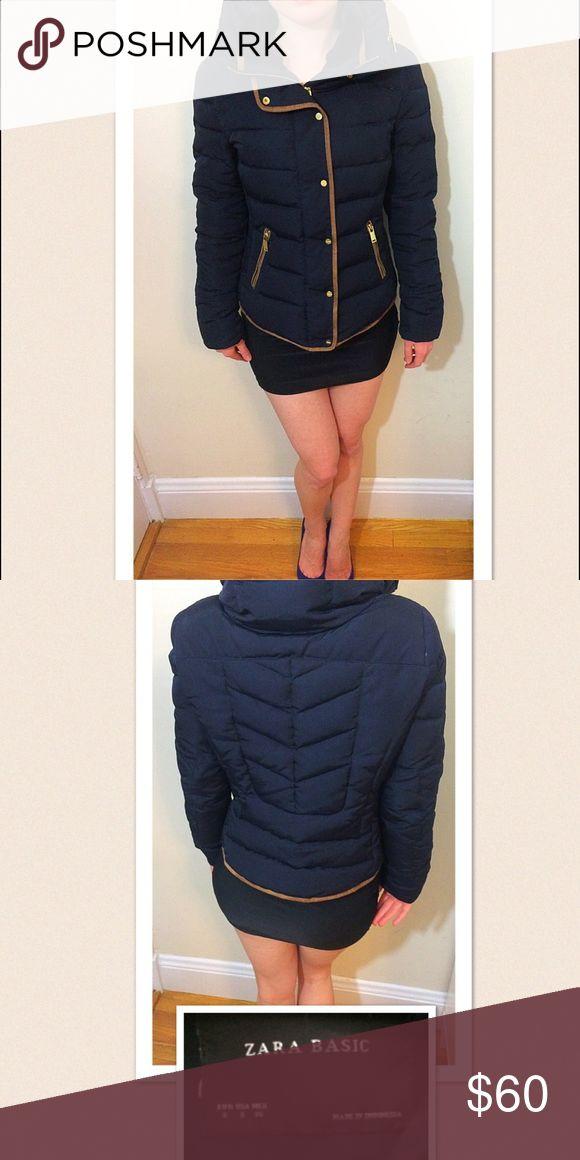 Zara - Boston storm special! $50 Very posh Zara winter jacket. Great design! Zara Jackets & Coats Puffers