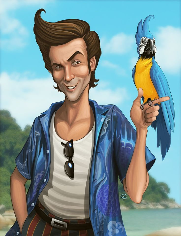 Ace Ventura by =TovMauzer on deviantART
