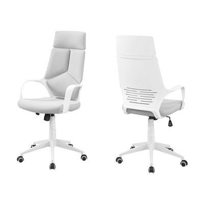 Monarch Specialties I 727 High Back Fabric Executive Office Chair