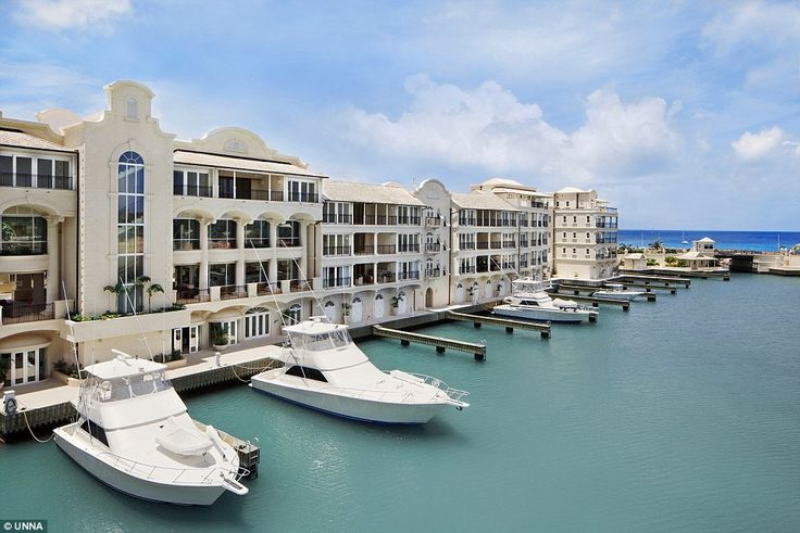 Marina and villas at Port Ferdinand, #Barbados