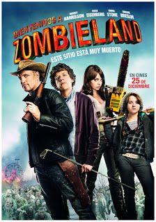 EL CINE EN TU CASA  2009, accion, aventura, bienvenidos a zombieland, comedia, emma stone, español latino, jesse eisenberg, tierra de zombies, woodyharrelson
