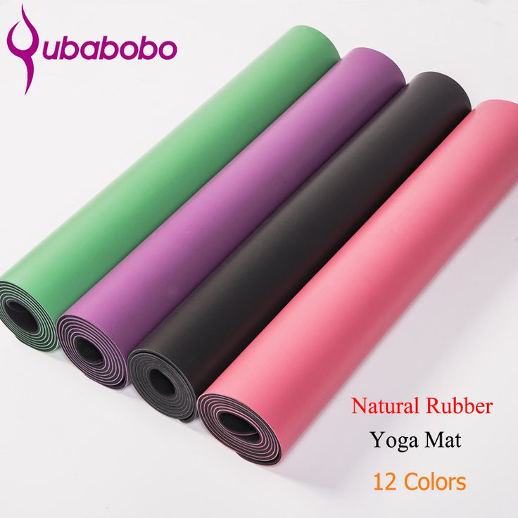 5MM Thick Non-slip Natural Rubber Yoga Mats For Fitness PU Pilates Gymnastics Mats 12 Colors Yoga Exercise Pads ( 180*66*0.5cm ) *** AliExpress Affiliate's buyable pin. Item can be found  on www.aliexpress.com by clicking the image #Yogawears