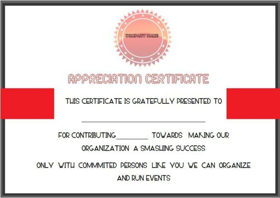 Charity Donation Certificate Template Donation Certificate