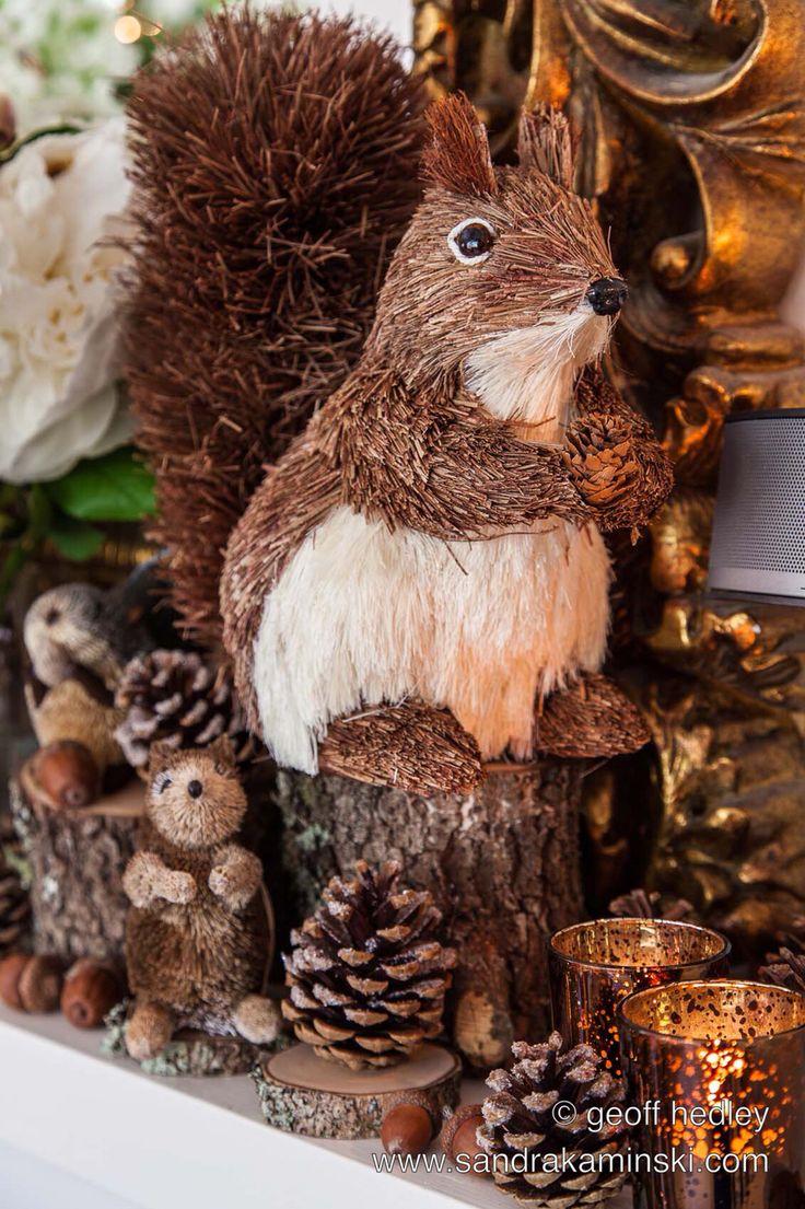 Woodland Christmas by Sandra Kaminski