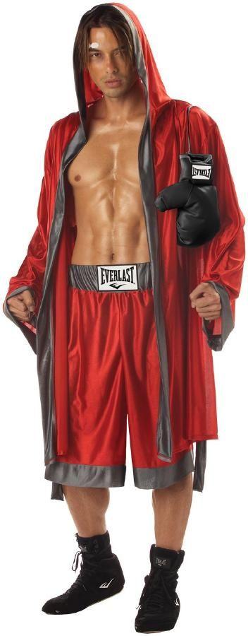 エバーラストのボクシング コスチューム 4ピースセット コスチューム コスプレ衣装 (二次会、結婚式、仮装、パーティー、宴会、ハロウィン) 男性 大人用02P09Jan16:楽天