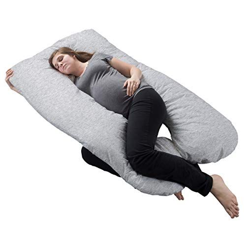 Lavish Home Pregnancy Pillow Full Body Maternity Pillow With