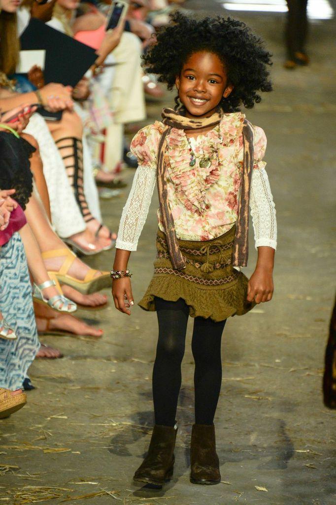 The Fall 2013 Girls Fashion Show African Princess